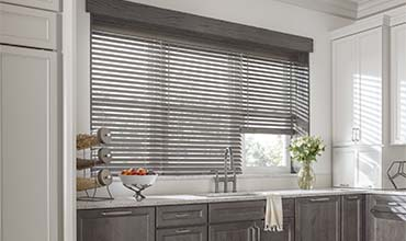 graber window treatments layered graber wooden blinds image shop custom shades at lowes
