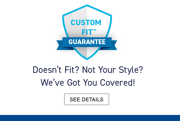 CustomFit Guarantee on Lowe's Custom Blinds and Shades